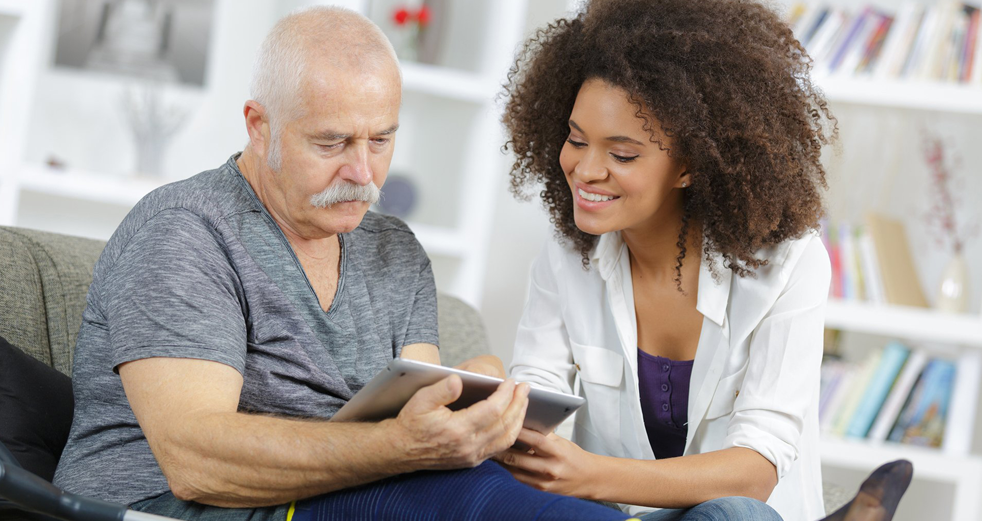 private home care aide technology